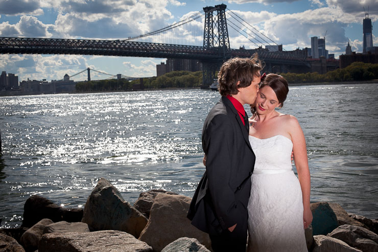 East River Park Williamsburg Wedding Photography
