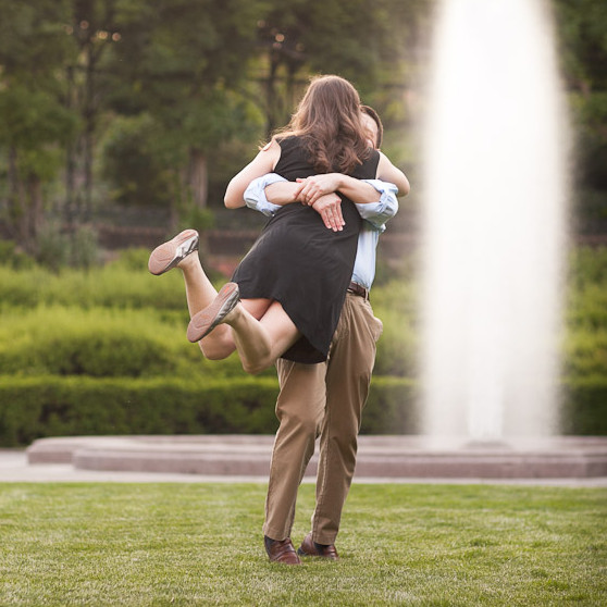 Engagement of Amy & Ryan (Central Park North, New York NY)