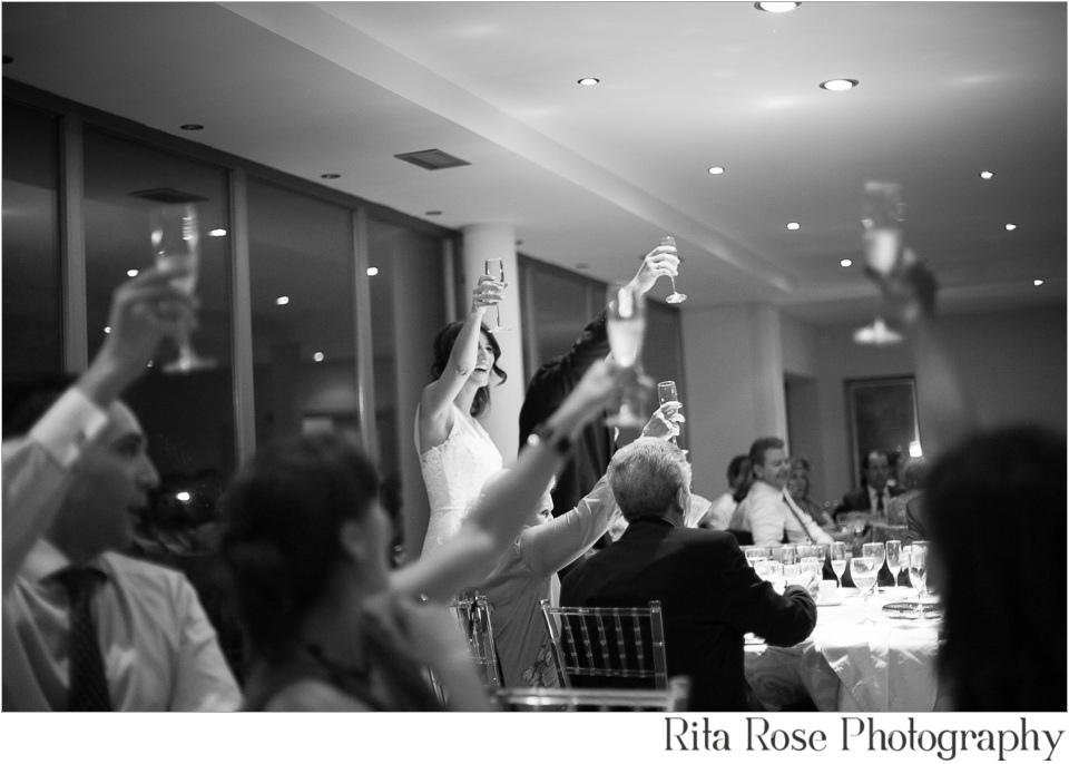 Photojournalistic Wedding photography Cutting cake with sword Madrid Spain